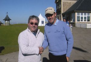 "Padraig Harrington 2007 British "" Open "" Golf Champion."