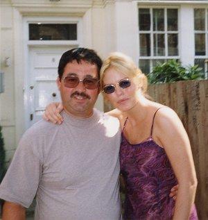 Patsy Kensit with Ken Mills
