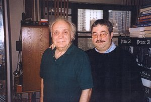 Jake La Motta with Ken Mills