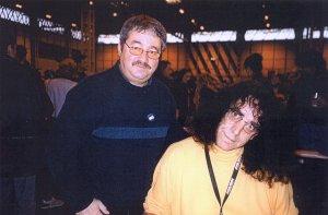 Peter Mayhew with Ken Mills