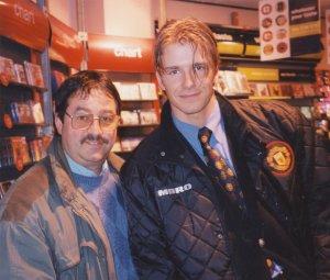 David Beckham with Ken Mills