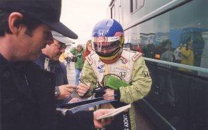 Jacques Villeneuve with Ken Mills