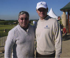 "Paul Lawrie "" Open Golf Champion "" with Ken Mills"