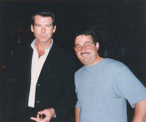 Pierce Brosnan 007 with Ken Mills