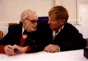 Sir John Mills and John Leyton