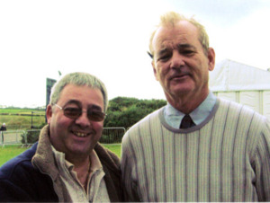 "Bill Murray "" Ghostbusters "" with Ken Mills"