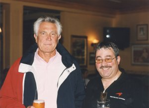 George Lazenby 007 with Ken Mills