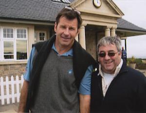 Nick Faldo with Ken Mills