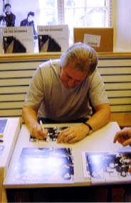 "Pete Best "" The Beatles "" Signing for Writestuff Autographs of Lancaster."