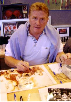 "Alan Ball "" England World Cup 1966 "" Signing for Writestuff Autographs of Lancaster."