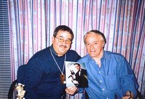 Robert Vaughn with Ken Mills