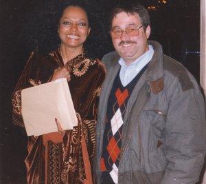 Diana Ross with Ken Mills