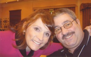 Margot Kidder with Ken Mills