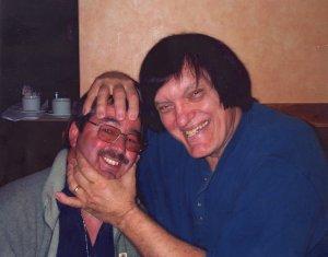 Richard Kiel (Jaws) with Ken Mills