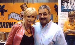 Britt Ekland with Ken Mills