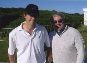 Hugh Grant with Ken Mills