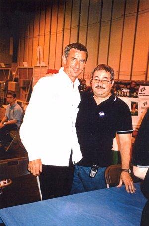 Ian Rush with Ken Mills