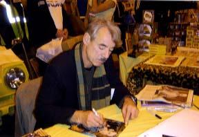 Roger Lloyd Pack Signing for Writestuff Autographs of Lancaster.