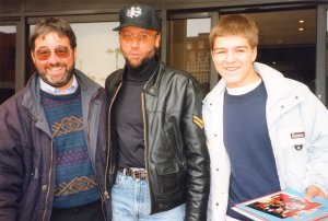 Maurice Gibb - The Bee Gees with Ken and Kevin Mills
