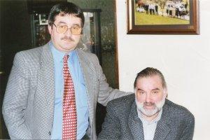 George Best with Ken Mills