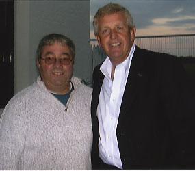 Colin Montgomerie with Ken Mills