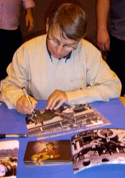 Willie Carson Signing for Writestuff Autographs of Lancaster
