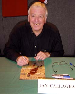 "Ian Callaghan "" Liverpool F.C "" Signing for Writestuff Autographs of Lancaster."