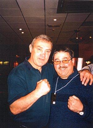 Alan Minter with Ken Mills