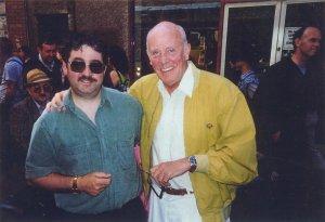 Richard Wilson with Ken Mills