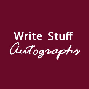 Genuine Authors/Playwrights Signed Cards Autographs