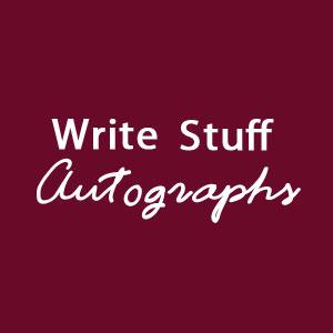 Genuine Skeleton ( Tobogganing ) Signed Photographs Autographs
