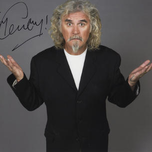 Billy Connolly ' The Big Yin '  Film, Stage and T.V.   Signed Photograph Autograph