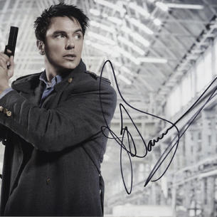 John Barrowman ' Capt Jack in Torchwood '   Stage and Television Signed Photograph Autograph