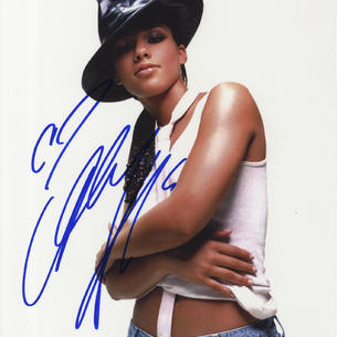 Alicia Keys ' R&B and Soul '   Music Signed Photograph Autograph