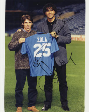 official photos 18e02 26fdc Gianfranco Zola and Ruud Gullit