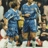 Gianfranco Zola and Gustavo Poyet