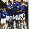Tim Cahill - Marcus Bent and Leon Osman