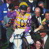 Mick Fitzgerald ' 1996 Grand National winner on Gold Quest '     Horseracing Signed Photograph   Autograph