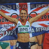 Jessica Ennis ' British Olympic Gold Heptathlete ' Track and Field Signed Photograph Autograph